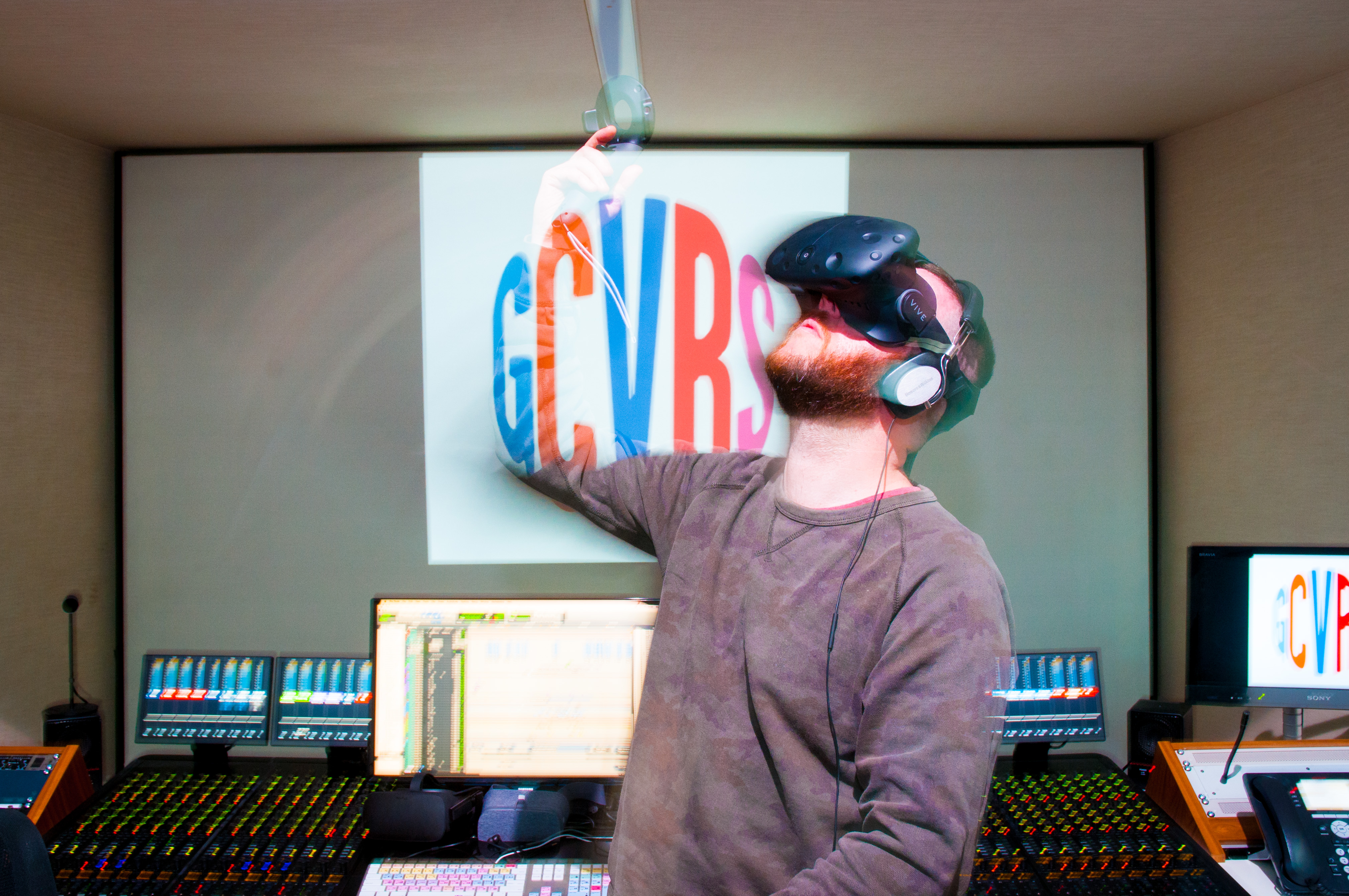 GCRS on Making Sound for VR | shots