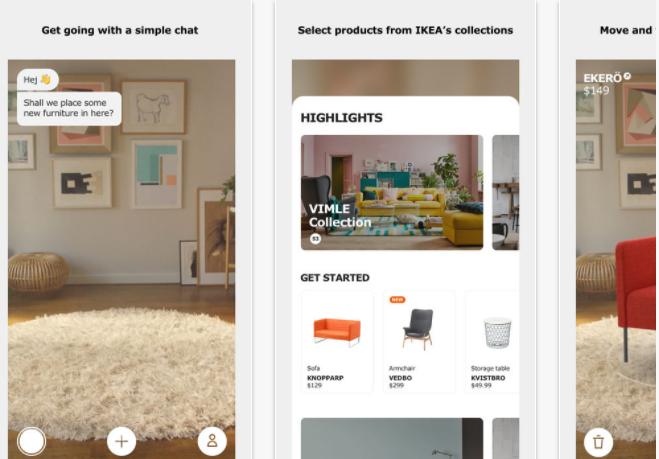 IKEA Make Furniture Shopping Fun with AR | shots